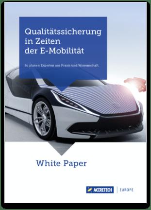 White Paper Qualitätssicherung in Zeiten der E-Mobilitaet