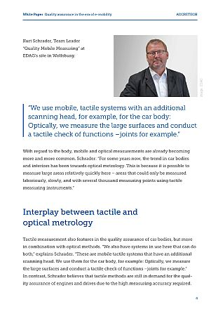 Example page ACCRETECH White Paper E-Mobility