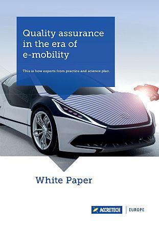 Front page ACCRETECH White Paper E-Mobility